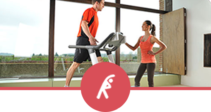 Man and Girl Personal Training